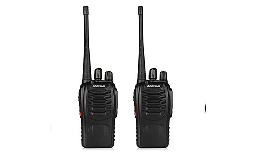 6. BaoFeng BF-888S Walkie Talkie 2pcs