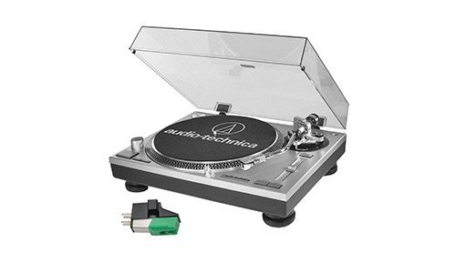 8. Audio-Technica AT-LP120-USB Professional Turntable