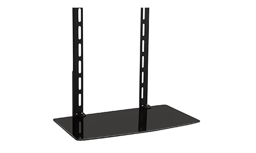 7. Mount-It! TV Wall Mount Shelf Bracket Under TV for Cable Box, DVD Player, Stereo AV Components Shelf