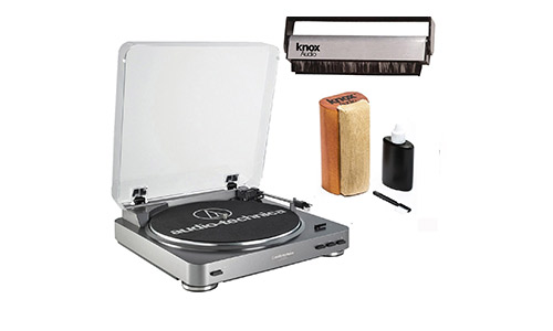 9. Audio-Technica AT-LP60 Turntable