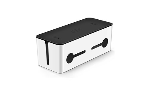 5. UGREEN Cable Box Large Charging Cable Management Box Power Cord Organizer
