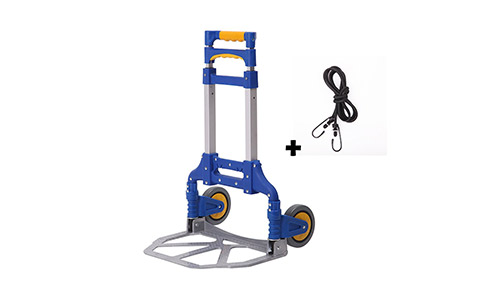 8. Portable Folding Aluminum Hand Truck Luggage Carts Dolly heavy duty