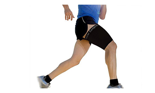 5. Copper Compression Recovery Thigh Sleeve.