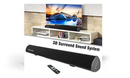 Top 10 Best Home Theater Sound Bar System Reviews 2018