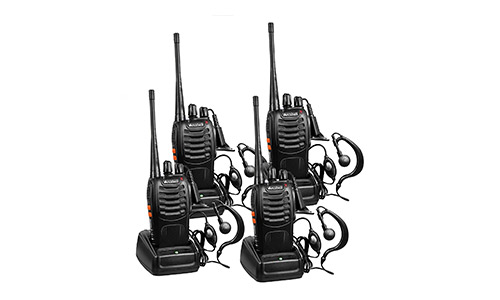 10. Arcshell Rechargeable Long Range Two-way Radios