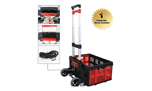 Top 10 Best Folding Hand Truck and Cart Reviews in 2021