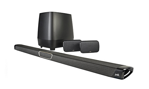 10. Polk Audio MagniFi MAX SR Maximum-Performance True 5.1 Home Theater Sound Bar System