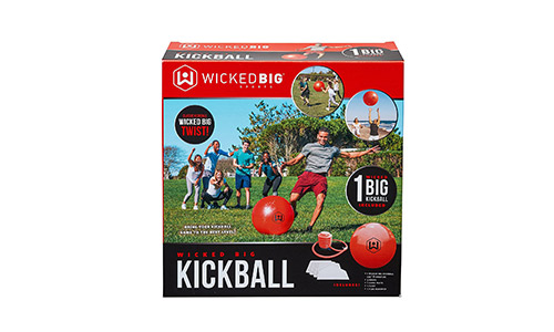 6. Wicked Big Sports Supersized Kickball Outdoor Sport Tailgate Backyard Beach Game Fun