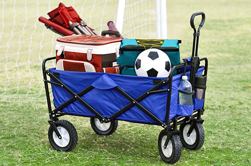 Top 10 Best Outdoor Folding Beach Carts with Big Wheels In 2021