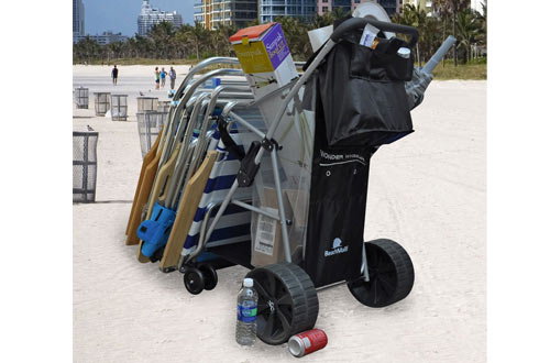 Rio Brands Wonder Wheeler Beach Cart
