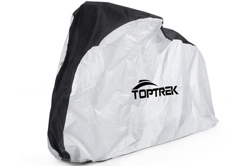 Toptrek Bike Cover Waterproof Outdoor Storage Bicycle Cover for Mountain Bike
