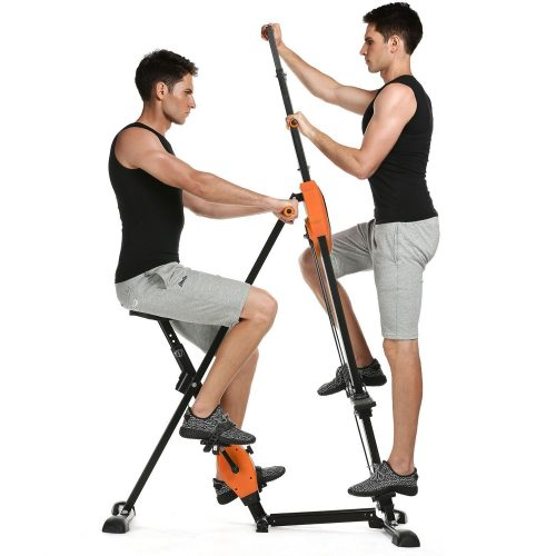 Binxin Vertical Climber Fitness Step Machines for Home Gym Exercise - Adjustable Height