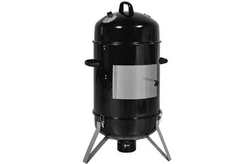 Outdoor BBQ Charcoal Vertical Design Smoker