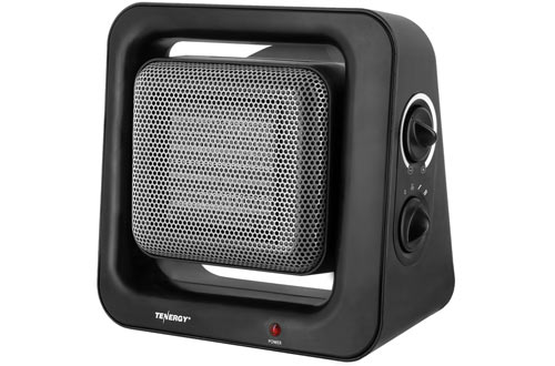 Portable Space Heaters with Adjustable Thermostat for Home Bedroom