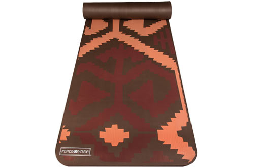 Peace Yoga Extra Thick NBR Exercise Mat