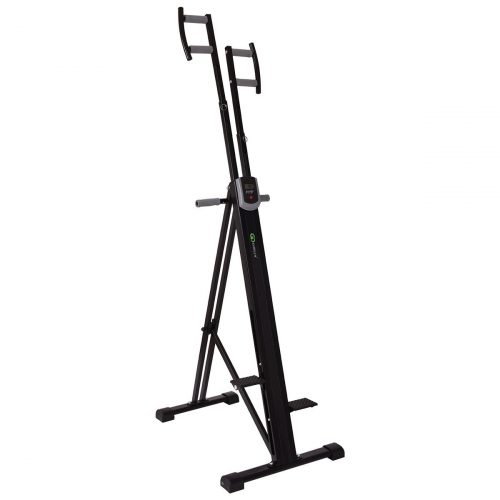 Goplus Vertical Climber Exercise Climbing Machine Folding Step Climber Exercise Equipment