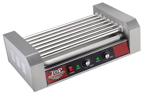 Great Northern Commercial Quality 18 Hot Dog and 7 Roller Grilling Machine