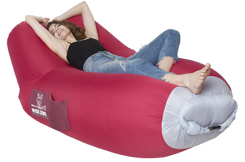 Wise Owl Outfitters Inflatable Lounger Air Hammock Sofa