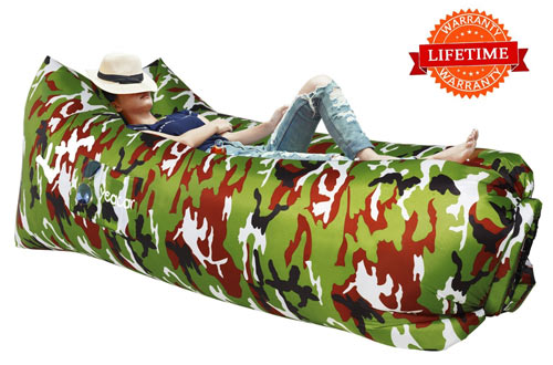 yeacar Inflatable Lounger Air Sofa, Portable Waterproof Indoor or Outdoor