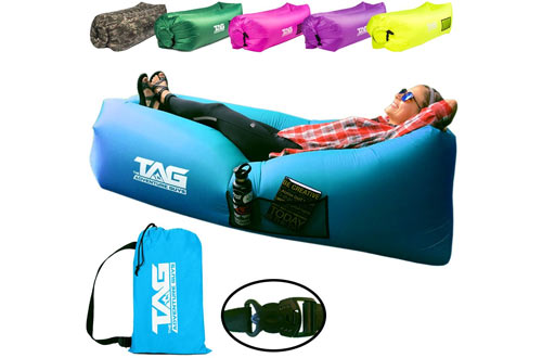 The Adventure Guys Inflatable Lounger Air Sofa
