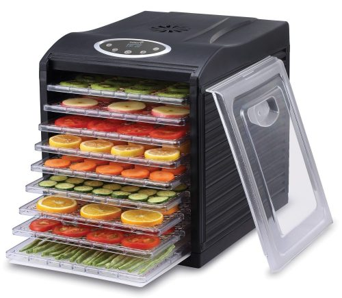 Ivation 600w Electric Food Dehydrator Pro with 9 Drying Trays