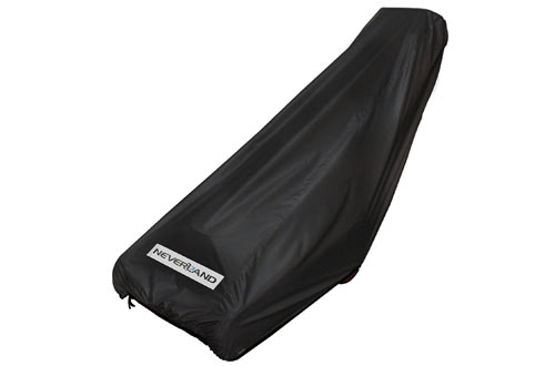 NEVERLAND 300D Oxford Deluxe Wale Behind Lawn Mower Cover