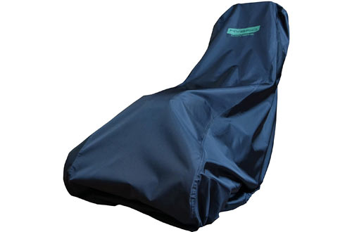 Hybrid Covers Black Durable Lawn Mower Cover