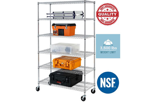 Commercial Heavy Duty 6 Layer/Tire Storage Rack Shelf