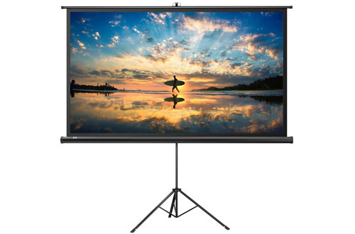 Projector Screen with Stand, TaoTronics Indoor and Outdoor Movie Screen