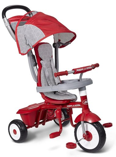 Radio Flyer EZ Fold Stroll 'N Trike Deluxe-Tricycles for Kids