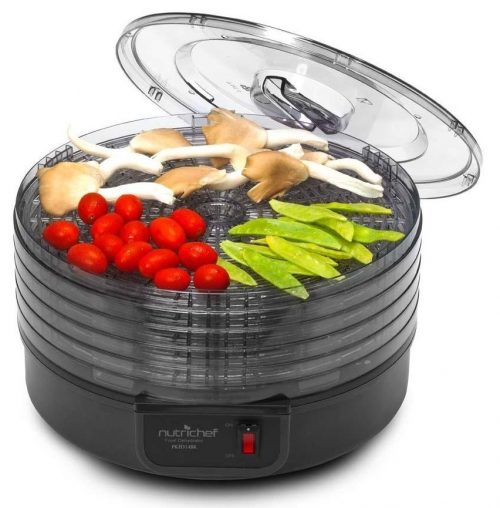 Upgraded 2017 NutriChef Food Dehydrator Machine