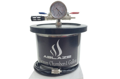 ABLAZE 1 Gallon Stainless Steel Gal Vacuum Chamber