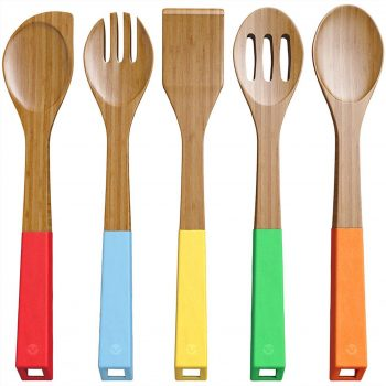 Best Wooden Spoon Sets in 2019 Reviews