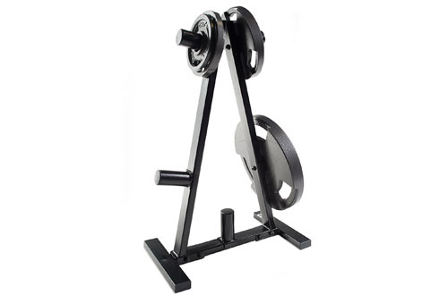 CAP Barbell A Frame Olympic Plate Rack
