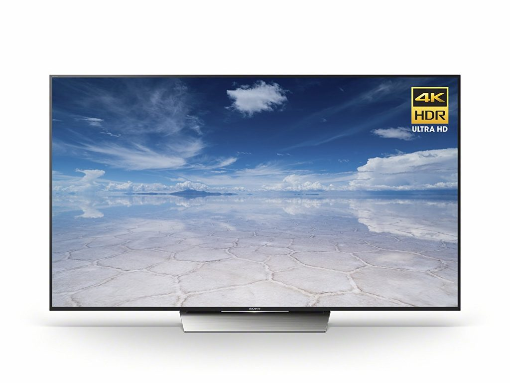 Sony 75-Inch 4K Smart LED TV XBR75X850D