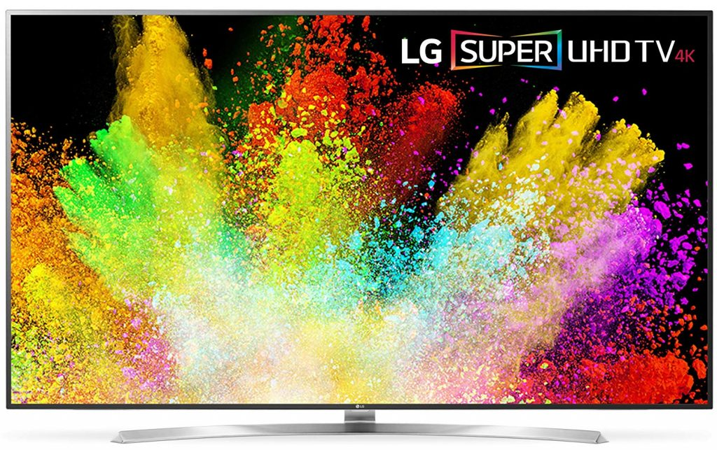 LG Electronics 75SJ8570 75-Inch 4K Smart LED TV