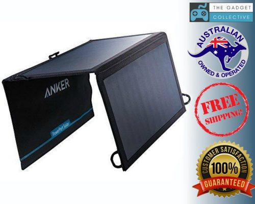 Anker 15W Dual Ports USB Solar Charger PowerPort Solar Lite