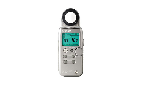5. Sekonic L-358 Flash Master Light Meter