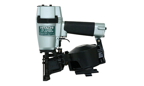 7. Hitachi NV45AB2 7/8-Inch to 1-3/4-Inch Coil Roofing Nailer