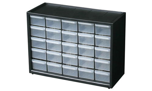 6. Flambeau 6576NA Parts Storage Drawer, Hardware and Craft Cabinet
