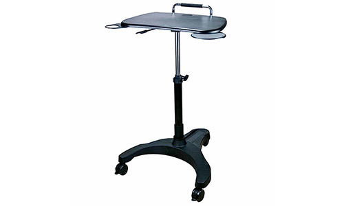 6. Aidata LPD008P Popdesk Deluxe Mobile Workstation Notebook Cart