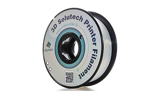 7. 3D Solutech Natural Clear 1.75mm 3D Printer PLA Filament
