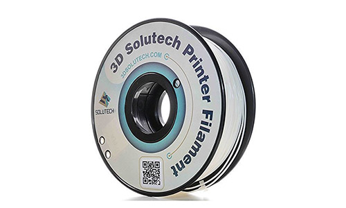 1. 3D Solutech Real White 3D Printer PLA Filament