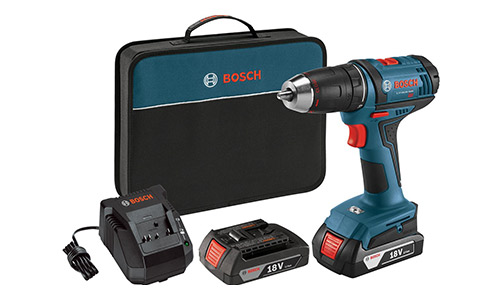 5. Bosch 18-Volt Compact Tough Drill/Driver Kit DDB181-02