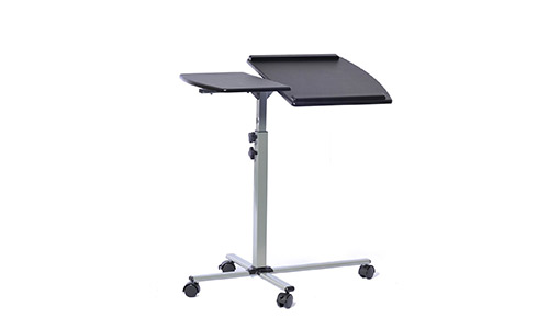 4. Techni Mobili Height Adjustable Laptop Cart