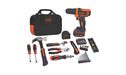 4. Black & Decker BDCDD12PK Drill Project Kit