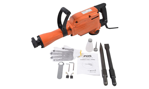 Top 10 Best Electric Demolition Hammers Reviews in 2021