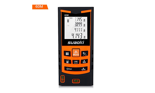 3. Suaoki S9 198ft Portable Laser Distance Measure, Laser Measure