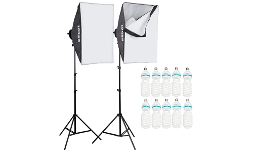 5. ESDDI Photography Softbox Light Lighting Kit