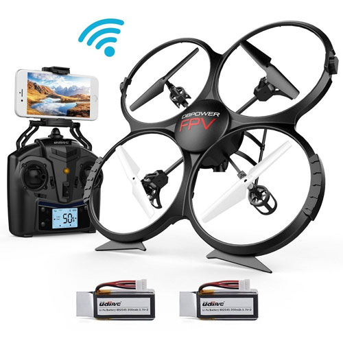 WIFI FPV Version U818A Drone with 720P HD Camera DBPOWER Headless Mode Quadcopter